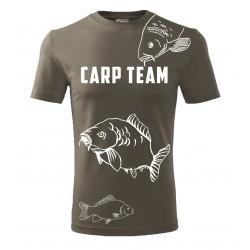 Nadměrná velikost tričko s...