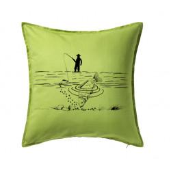 Polštář s rybářem