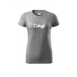 Tričko děkuji - dámské