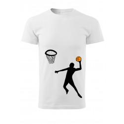 Tričko s basketbalistou
