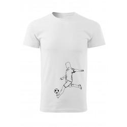 Tričko s fotbalistou