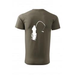 Tričko s rybářem