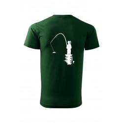 Vlastní text tričko s rybářkou