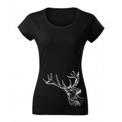 Dámské tričko s jelenem