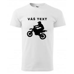 Tričko s motorkou s...