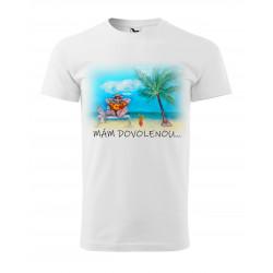 Tričko mám dovolenou
