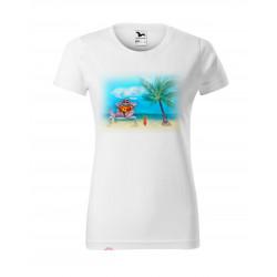 Tričko s dovolenou - dámské