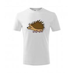 Dětské tričko s ježkem