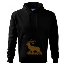 Mikina s potiskem jelena...
